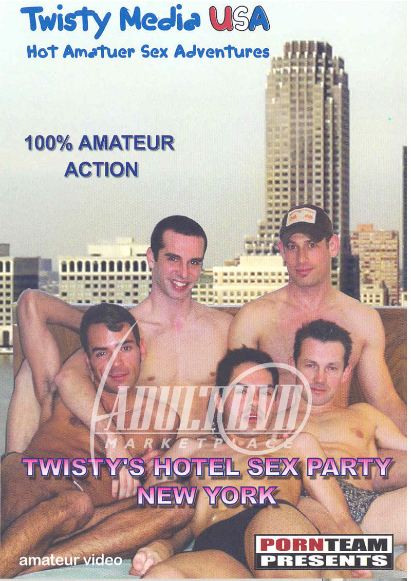 Twisty's Hotel Sex Party- New York