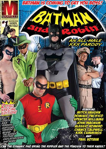 Batman And Robin: An All Male XXX Parody