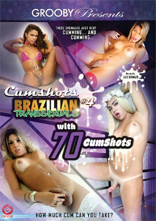Cumshots #4 - Brazilian Transsexuals