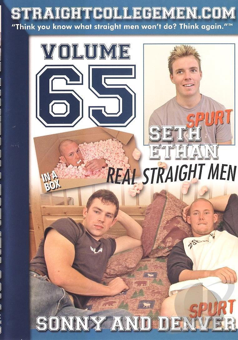 Straight College Men #65